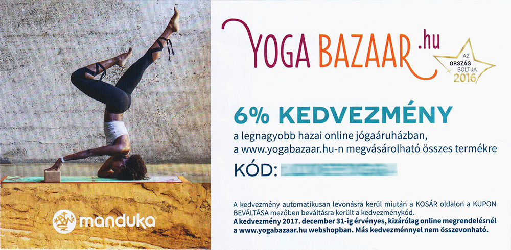 Yoga bazaar kupon