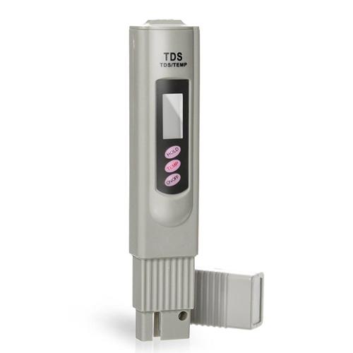 Digitális TDS és hőmérséklet mérő műszer + műbőr tok
