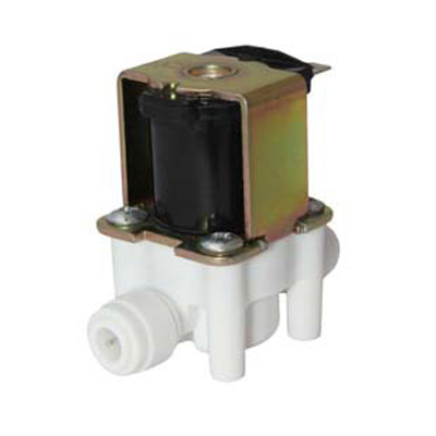 "Mágnesszelep - solenoid 24V - 1/4""x1/4"" PUSH-IN"